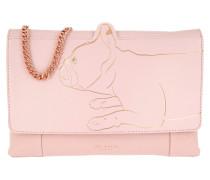 Barki Linear Dog Umhängetasche Bag Light Pink