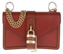 Umhängetasche Aby Shoulder Bag Leather Sepia Brown