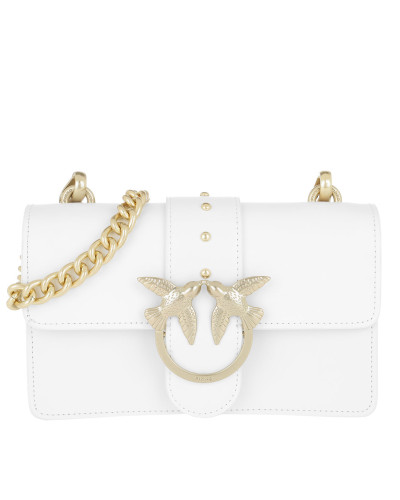 Mini Love Simply Crossbody Bag Bianco Tasche