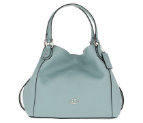 Tote Polished Leather Edie 28 Shoulder Bag Sage blau