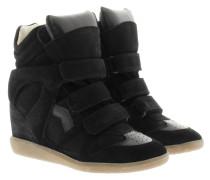 Bekett Sneakers Suede Black Sneakers