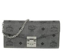 Portemonnaie Patricia Visetos Flap Wallet Large Phantom Grey grau