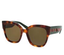 Sonnenbrille GG0059S 55 002 braun