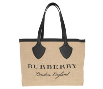 Carry-All Logo Tote Black