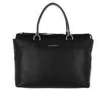 Keyla Tote Shoulder Bag Black