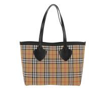 Shopper The Medium Shopping Bag Yellow/Bright Red beige