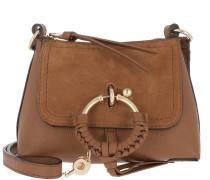 Umhängetasche Joan Mini Crossbody Bag Caramel braun