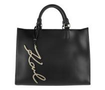 K/Signature Shopper Black Shopper