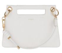 Umhängetasche Whip Bag Smooth Leather Small White weiß