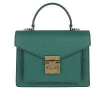 Patricia Satchel Small Hopper Green Satchel Bag
