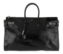Sac De Jour Bag Leather Black Satchel Bag