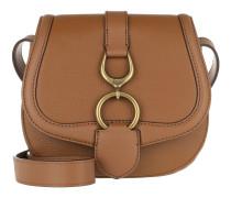 Barrington Crossbody Bag Pebbled Leather Lauren Tan Tasche