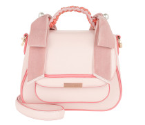 Edge Dye Shoulder Bag Sunkissed Pink Satchel Bag
