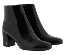 Babies 70 Pin Boots Patent Leather Black Schuhe