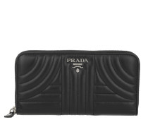 Classic Zip Wallet Smooth Leather Black