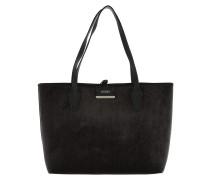Shopper Bobbi Inside Out Tote Velvet/Black schwarz