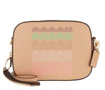 Umhängetasche Print Crossbody Bag Nude Pink beige