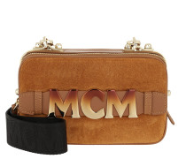Cubism Suede Crossbody Bag Mini  Tasche