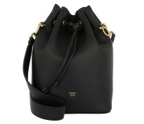 Mon Tresor Bag Leather Black/Gold Beuteltasche