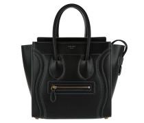 Tote Tote Bag Micro Luggage Nero/Grigio schwarz