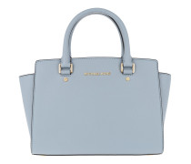Selma MD TZ Satchel Bag Pale Blue Tote