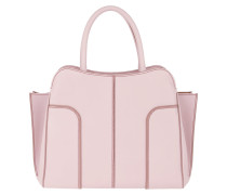 Sella Large Tote Leather Lilac Tote
