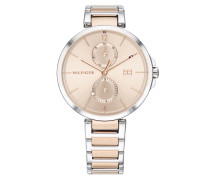 Uhr Multifunctional Watch Dressed 1782127 Silver/Rosegold