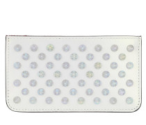 Portemonnaies Credilou Wallet Leather White weiß