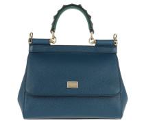 Sicily Mini St. Dauphine Royal Blue Satchel Bag