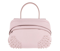 Shoulder Bag Wave Mini Gommino Miami Lilac Satchel Bag