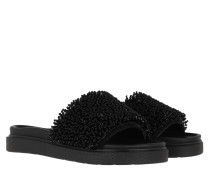 Schuhe Pearl Band Slipper Black