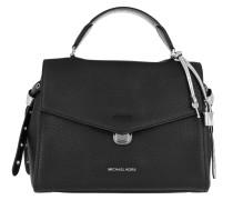 Bristol Medium Shoulder Bag Black Satchel