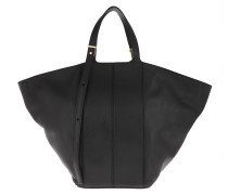 Shopper Diletta Handbag Leather Nero