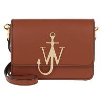 Umhängetasche Anchor Logo Crossbody Bag Toffee cognac