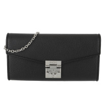 Patricia Park Avenue Flap Wallet Large Black