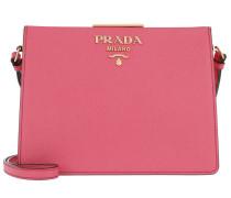 Light Frame Crossbody Bag Pink Tasche