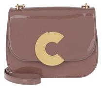 Craquante Patent Crossbody Bag Dark Pivoine Tasche