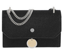 Finley Mini Bag Lamé Glitter Black Tasche