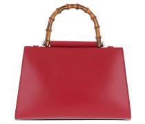 Nymphaea Small Top Handle Bag Red Satchel Bag