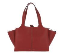 Tri-Fold Small Shopper Red Shopper