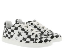 D-Bee Sneakers Calfskin Black/White Sneakers weiß