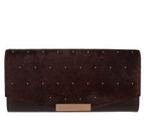 Tedessa Studded Envelope Matinee Purse Oxblood rot