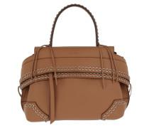 Wave Bag Chain Details Brandy Satchel Bag