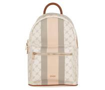 Rucksack Cortina Due Salome Backpack Rose weiß