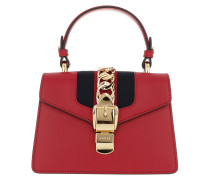Sylvie Mini Bag Leather Red Tasche