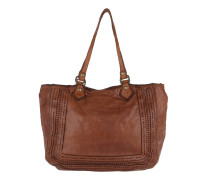 Leather Shopping Bag Large  Tote
