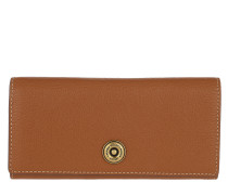 Millbrook Wallet Pebbled Lauren 2 Tan/Orange