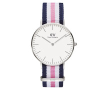 Uhr Classic Southampton 36 mm Blue Rose White