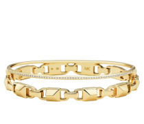 Schmuck MKC1001AN710 Hinged Bangle Mercer Link Gold gold