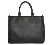 Ava Handle Bag Medium Black Tote
